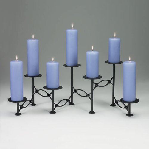 Accordian Fireplace Candelabra