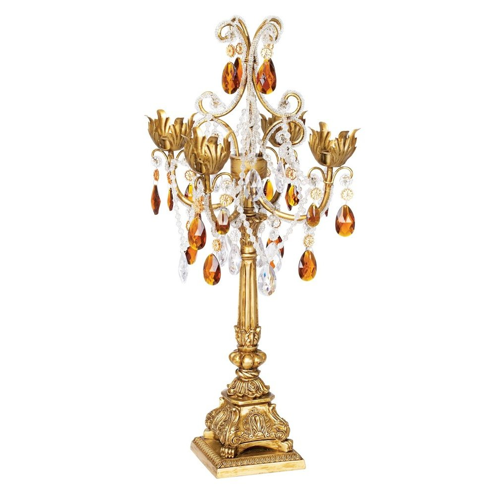 Tall Gold Candelabra