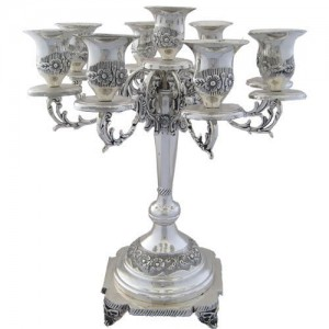 9 arm Silver Plated Candelabra