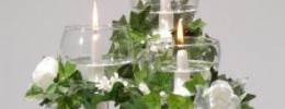 Float Taper Candle CANDELABRA