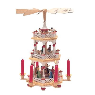 Nativity Scene with Candels