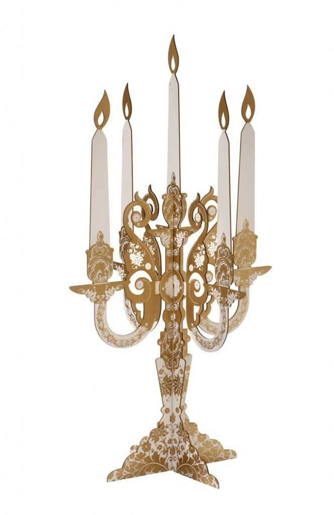 GOLD 2-Pack Candelabra