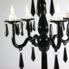 LED Decorative Candelabra - Black
