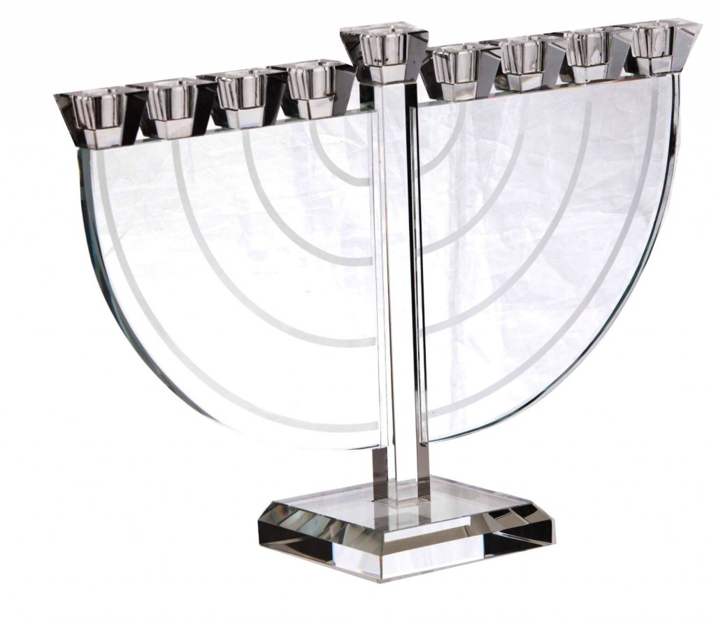Amazing Crystal Menorah