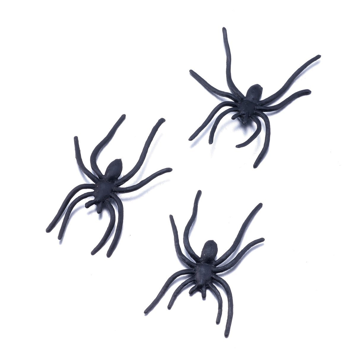 100 Artificial Spiders HALLOWEEN PROP