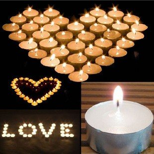 white unscented Quality Tealight Candles Unscented Set of 120
