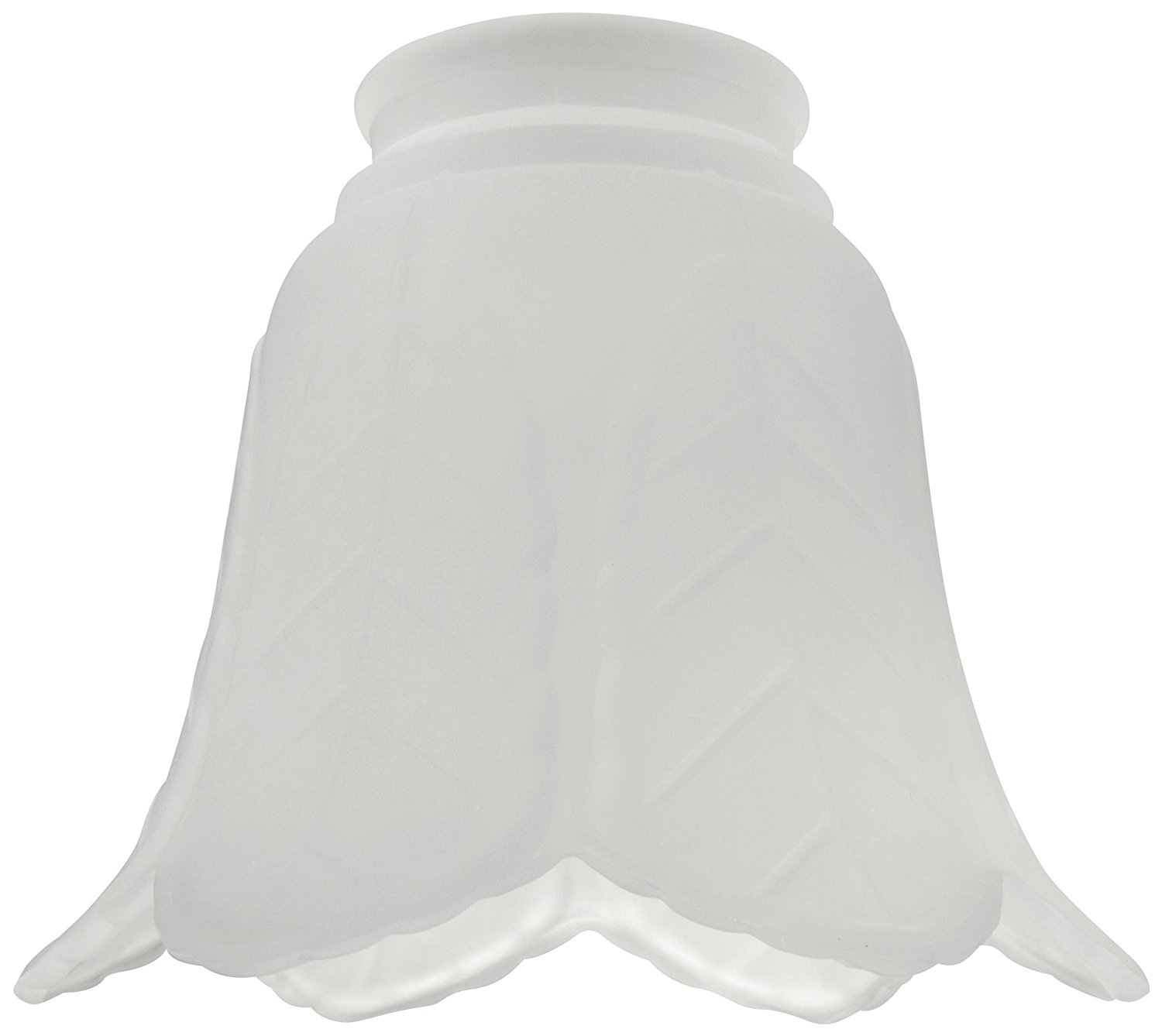 "Glass Shade with 2 1/4"" Neck, Frosted"