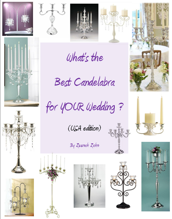 Whats the Best Candelabra for Your Wedding