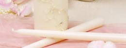Sparkling Entwined Unity Candle